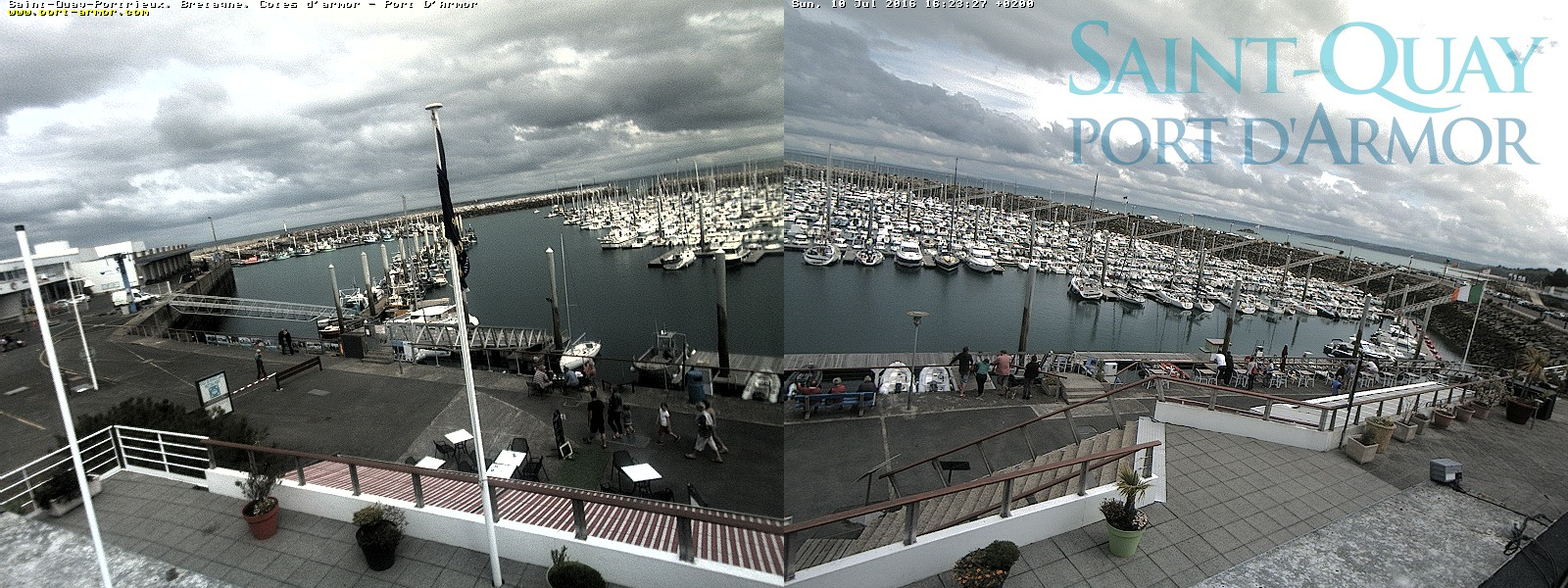 Webcams de Saint Quay Portrieux